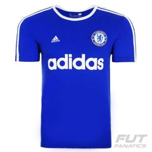 [ FUT FANATICS ] - Camiseta Adidas Chelsea Retro Azul - R$81