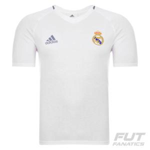 [ FUT FANATICS ] - Camiseta Adidas Real Madrid Hino 2016 - R$73