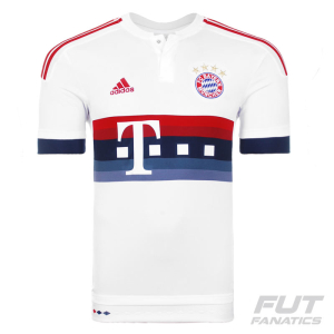 [ FUT FANATICS ] - Camisa Adidas Bayern Away 2016 R$122