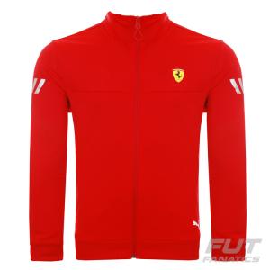 [ FUT FANATICS ] - Jaqueta Puma Scuderia Ferrari Track Vermelha R$187