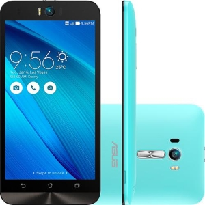 "[Submarino] - Asus Zenfone Selfie Android 5.0 Tela 5.5"" 32GB 4G 13MP - Azul - R$1.157"