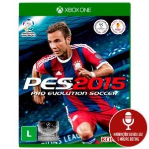 [Ricardo Eletro] Jogo Pro Evolution Soccer 2015 (PES 15) para Xbox One - XONE - Konami por R$ 18