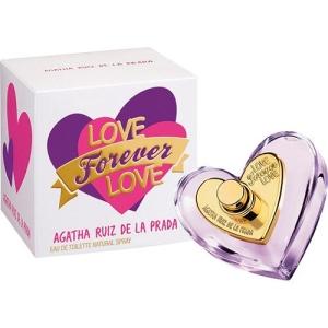 [Sou Barato] Perfume Agatha Ruiz de La Prada Love Forever Love Feminino, Eau de Toilette - 80ml por R$45