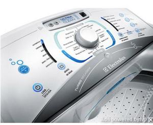 [Americanas] Lavadora de Roupas Electrolux 15kg Blue Touch Ultra Clean LBU15 Branco - R$1275