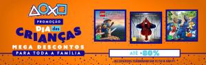 [PSN] Promoção de Dia das Crianças até o dia 11/10!!!