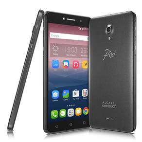 """[Extra]Smartphone alcatel Pixi4 6 Preto com Tela 6"""" qHD, Memória 8GB, Câmera 13MP, Selfie 8MP com flash, Quad Core 1.3Ghz, Android 5.1, Dual Chip e 3G R$600"""