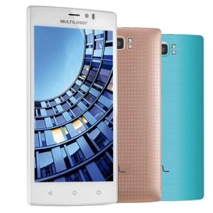 "[EFACIL] Smartphone MS60 Dual Chip Branco 5.5"" 4G+ Wifi Android 5.1 13 MP 16 GB - Multilaser POR R$744"