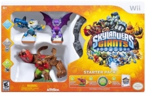 [Saraiva] Skylanders Giants: Cynder, Punch Pop Fizz, Tree Rex - Starter Pack - Wii por R$ 27