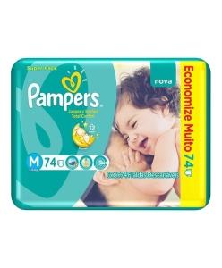 [Dinda] Fralda Pampers Total Comfort Super Fortebag M por R$ 57