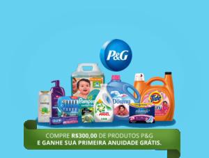 [Sams Club] Compre R$ 300 de produtos P&G e Ganhe 1 Anuidade