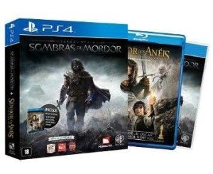 [Fnac] Box: Jogo Shadow of Mordor para PS4 + Blu-Ray O Senhor dos Anéis - R$70