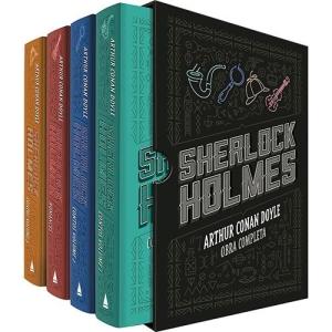 [Submarino] Box - Sherlock Holmes (4 Volumes) por R$ 45