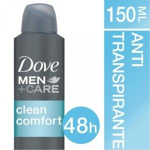 [DrogaRaia.com] DESODORANTE ANTITRANSPIRANTE AEROSOL MEN CARE CLEAN COMFORT - R$9
