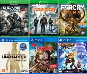[Submarino] Seleção de jogos para Xbox One / PS4 em promoção
