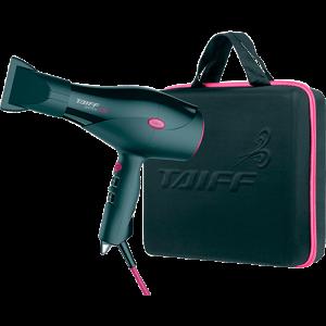 [SHOPTIME] Kit Secador de Cabelos Taiff Saffira Ion 2100W com Maleta Preto/Pink - R$158