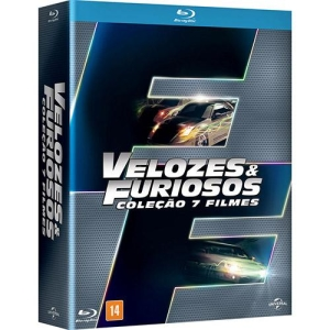 [Shop Time] Blu-ray - Velozes e Furiosos - Coleção 7 Filmes (7 Discos) - R$64,76
