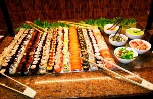 [Peixe Urbano/Belo Horizonte] Sushi Gami: Sushi do Buffet de Frios. Escolha entre Niguiri, Maki ou Uramaki! por R$ 0,02
