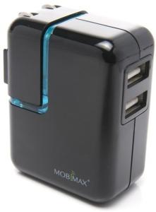 [Saraiva] Carregador de Tomada Mobimax Unipower Preto Com 2 USB Itw  por R$ 38