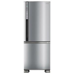 [EFACIL] Geladeira/Refrigerador Frost Free 2 Portas Bottom Freezer Inverter Econavi BB52PV2X 423 Litros Aço Escovado - Panasonic POR R$2791