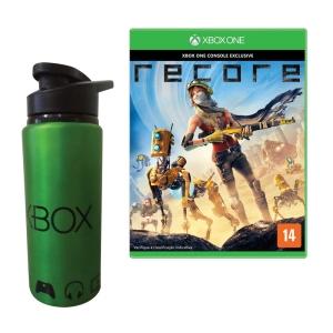 [Extra] ReCore para Xbox One + Squeeze 600ml de Metal Xbox - R$101