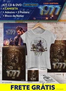 [LUAN SANTANA SHOP] Combo com NOVO kit de CD e DVD + Camiseta + FRETE GRÁTIS 99,90
