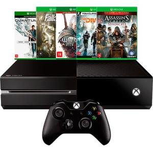 [Submarino] Console Xbox One 500GB + 5 Jogos + Controle Sem Fio = R$1.619,99 (desconto de 10% no boleto) ou 10x de R$ 179,99 sem juros