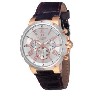 [RICARDOELETRO] Relógio Masculino Seculus, Analógico, Pulseira de Aço, Caixa de 4,8 cm, Resistente à Água 5 ATM - 17093GPSGGC1
