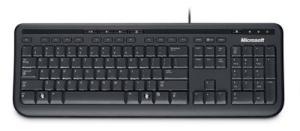 [Saraiva] Teclado Microsoft Wired Keyboard 600 por R$ 47