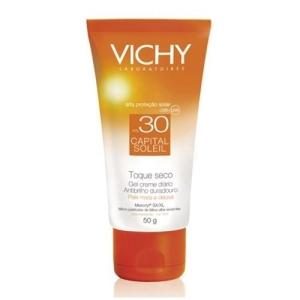 [Submarino] Protetor Solar Vichy Capital Soleil Toque Seco FPS30, 50g - R$51