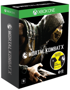 [Saraiva] Mortal Kombat X - Ed. Exclusiva - Inclui Camiseta - Xbox One - R$30