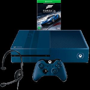[SHOPTIME] Console Xbox One 1TB Edição Limitada + Game Forza 6 (Via Dowloand) + Headset com Fio + Controle Wireless  R$ 1,360