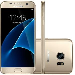 [Coringa Shopping] Samsung Smartphone Galaxy S7 G930F Dourado 4G 12MP 32GB - Desbloqueado por R$ 2155