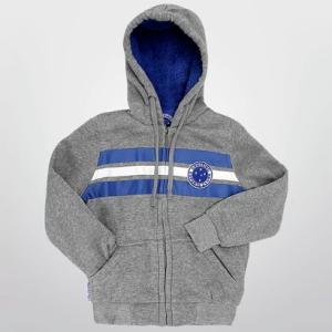 [Netshoes] Jaqueta Cruzeiro c/ Capuz Infantil