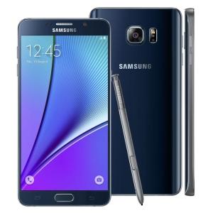[Casas Bahia] Smartphone Samsung Galaxy Note 5 SM-N920G Preto com 32GB por R$ 2199