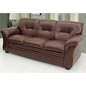 [Walmart] Sofá 3 Lugares Linoforte Aramazzi T20-232 Corano Marrom - R$432