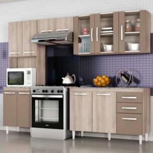 Cozinha Compacta Teka E Brown por R$ 450