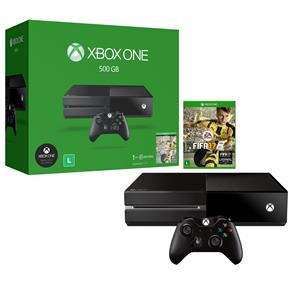 [Microsoft Store/ Meliuz] Xbox One 500G8B FIFA 17 por R$ 1199