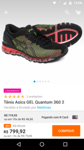 Tênis Asics GEL Quantum 360 2