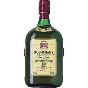 Whisky Escocês 12 Anos Garrafa 1 Litro - Buchanans por R$125