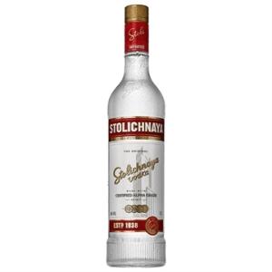 Vodka Russa Premium Letonia Garrafa 750ml - Stolichnaya por R$67