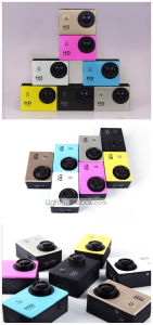 Câmera Esportiva 12MP 4000 x 3000 Impermeável 32 GB - R$104,75