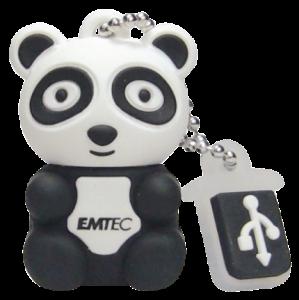 Pen Drive Emtec Animals 8Gb Panda 1 UNIDADES APENAS