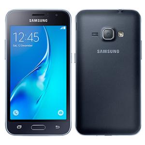 "Smartphone Samsung Galaxy J1 2016, Dual Chip, Preto, Tela 4.5"", 3G+WiFi, Android 5.1, 5MP, 8GB POR R$473"