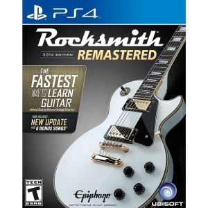 Jogo Rocksmith 2014 Edition Remastered - PS4 - R$212