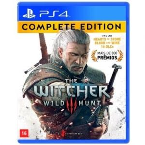 The Witcher 3: Wild Hunt - Complete Edition (2 expansões + 16 DLCs) para  PS4 por R$120
