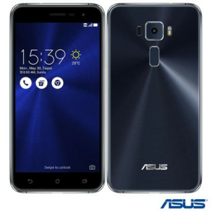 Zenfone 3 Preto Asus, com Tela de 5,2, 4G, 32 GB e Camera de 16 MP por R$1408