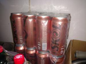 [extra] cerveja skol latão