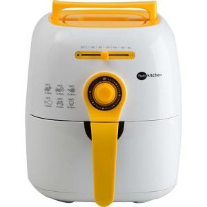Fritadeira sem Óleo Colors Fritalight Branca com Amarelo Fun Kitchen com 2 Anos de Garantia por R$ 230