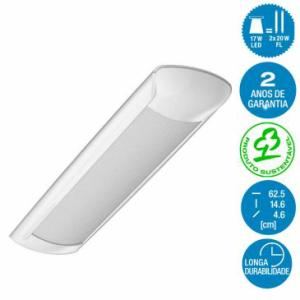 Luminária de LED para Teto por R$80