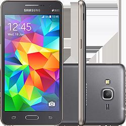 Smartphone Samsung Galaxy Gran Prime Duos Cinza/Dourado por R$ 487